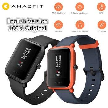 Huami AMAZFIT Bip/Bip Lite Smartwatch Bluetooth GPS inteligentny zegarek pulsometr sport Tracker IP68 wersja międzynarodowa
