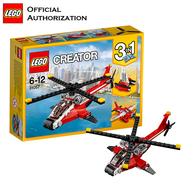 Lego Building Blocks Toy Creator Series Ideas Creative Red