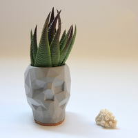Geometric Skull Flowerpot Molds Concrete Pot Silicone Molds New Design Conceret Holder Molds CEMENT MOLD