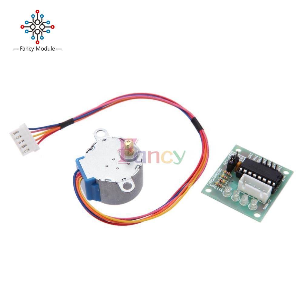 5 Line 4 Phase ULN2003 Drive Test Module Board With 5V Stepper Motor 28BYJ-48