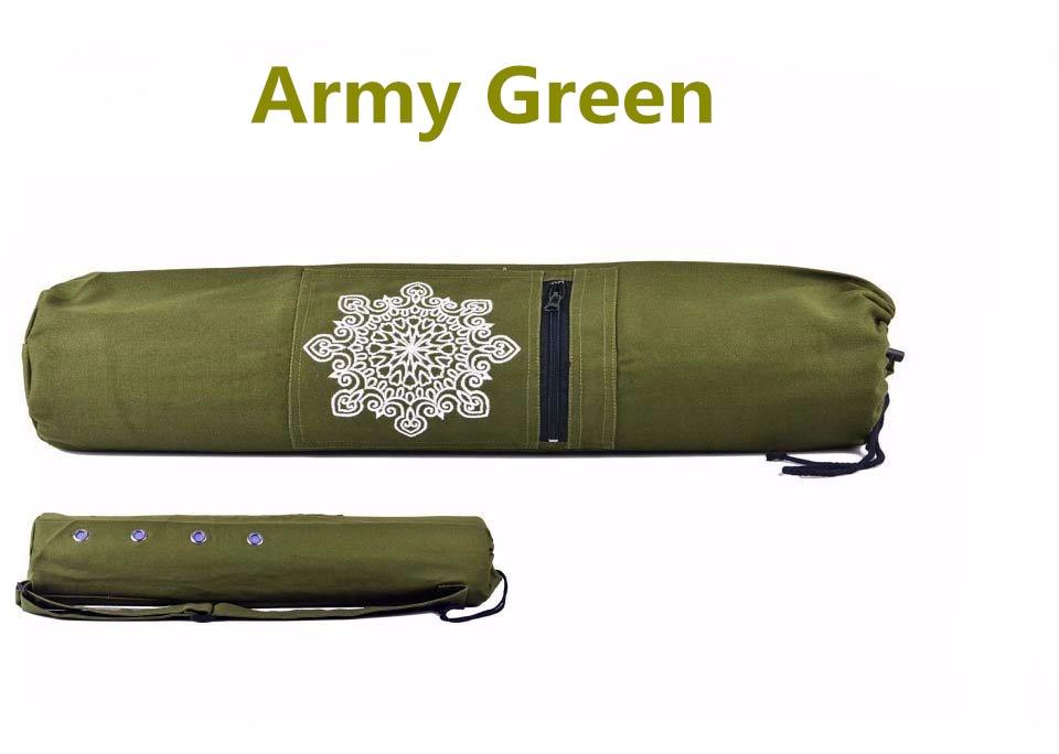 Ուսերի ժապավենով կտավ Yoga Yog Mat Carry Carrier - Ֆիթնես և բոդիբիլդինգ - Լուսանկար 4