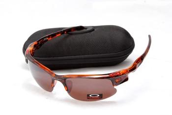 8da6dd5f19d99 100% Original Oakley 1218 Oakley chaqueta rápida gafas de sol montura negra  lentes marrones gafas deportivas activas