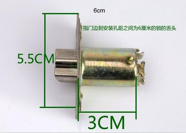 Door Latch For Stainless Steel 304 Recessed Cup Handle/ Privacy Door Lock (  6cm )