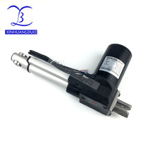 6 дюймов/150 мм ход электрический линейный двигатель постоянного тока DC12V24V 5/10/25 мм/сек. Heavy Duty Pusher 500/300/100 кг высокого качества