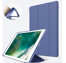 Niza 360 de cuerpo completo protector tpu suave silicona de nuevo caso elegante para apple ipad 2 3 4 cubierta del tirón delgada magnética de LA PU funda de cuero