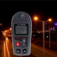 цена на Digital Luxmeter 0.1~200000Lux Light Meter Sensor Large LCD Display Photometer
