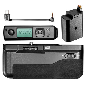 Image 5 - Meike MK A6300 Pro Battery Grip Holder Suit Builtin 2.4G Wireless Remote Control for Sony A6000 A6300 Work with NP FW50 battery