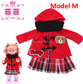 "Doll dress pattern free18 inch doll clothes /fashionable clothing for dolls 18""  AMERICAN PRINCESS Girl accessories1pcs"