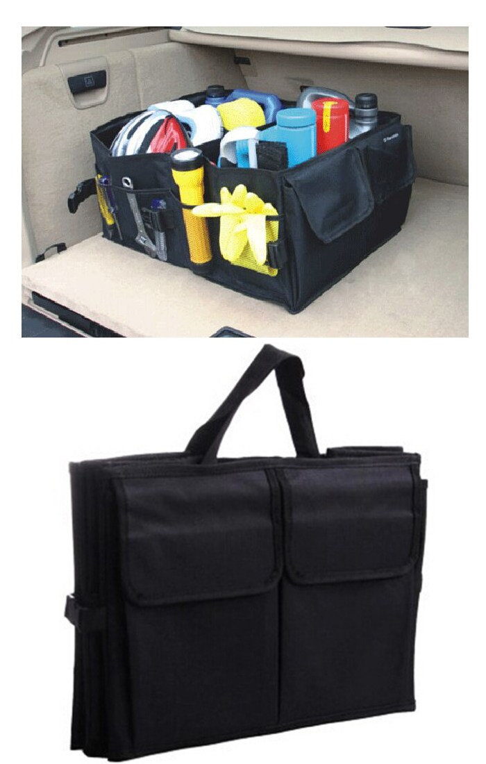 Andy New 2014 car accessories car trunk organizer car storage receive bag car boot storage bag