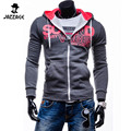 2016 Brand Sweatshirt Men Hoodies Fashion Chest Printing Hoodie Mens  Suit Zipper Mens Tracksuits Moleton Masculino 66600