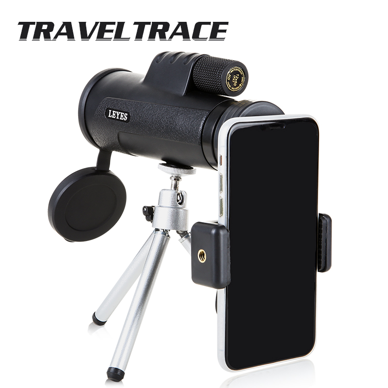 Monocular 12X50 Waterproof Powerful HD Telescope for Smartphone Objective Lens Outdoor Hunting Optics Professional Clear Prism(China)