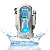 شحن مجاني 2 في 1 ترطيب هيدرا المياه RF جهاز شد الجلد/تقشير homeuse H2 O2 المائية المياه أكوا الوجه-في null من الجمال والصحة على