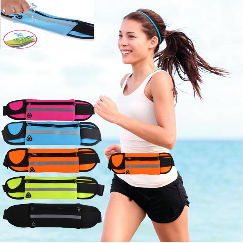 Sports Running Waist Bag Case For Coolpad Tattoo Torino S Y803-8 Modena Porto S Y75 Y76 Cover Pocket Pouch