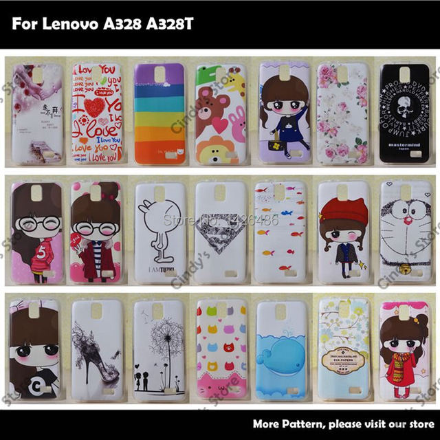 low priced 32007 b0bf7 US $2.97 |Cartoon Soft TPU Silicon Back Cover Case For Lenovo A328 A328T  Skull Supper Love Boy Girl Tower Protector Skin on Aliexpress.com | Alibaba  ...