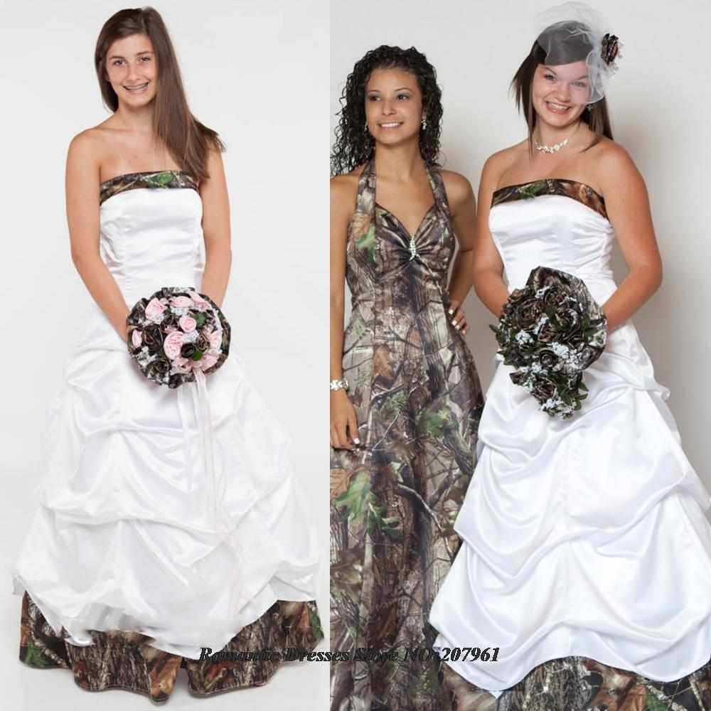 Online get cheap camo wedding strapless aliexpress alibaba 2016 elegant sweetheart satin ball gown camo wedding dresses with pleat bridal gowns camouflage vestidos de ombrellifo Gallery