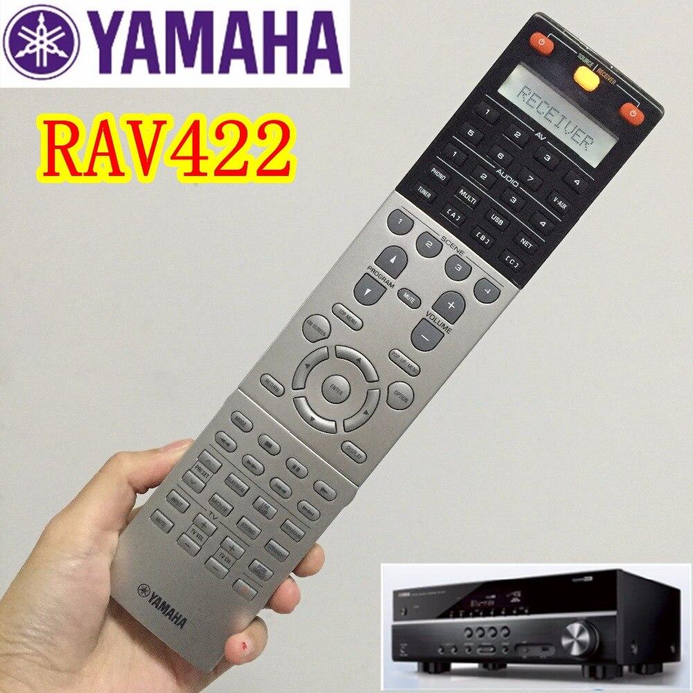 ФОТО High quality original remote control RAV412 for YAMAHA power amplifier AV RAV412 RAV422 RX-A3000 RX-V3067 RX-V3073