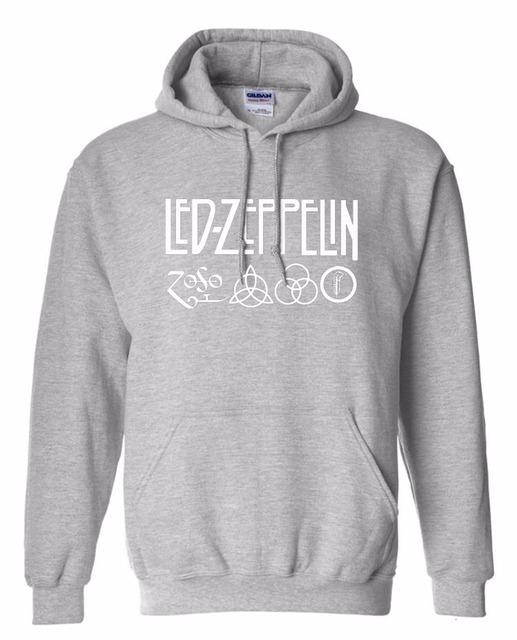 Rock And Roll Led Zeppelin Rock Zoso Fleece Hoodies Heavy Metal Band Fan Punk Hoody Sweatshirts Pullover Hooded K-pop Tracksuits