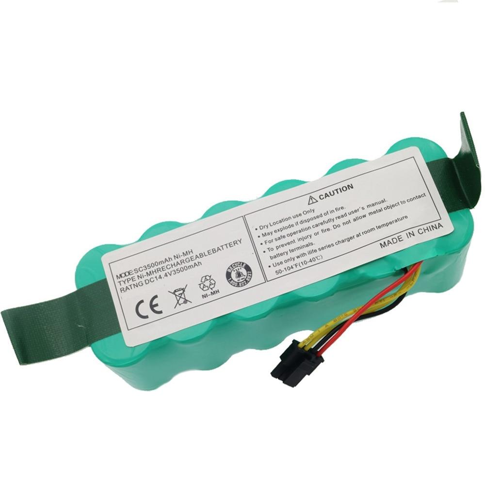 EAS-Ni-Mh 14,4 В 3500 мАч для Panda X500 X600 батарея Для Ecovacs Зеркало Cr120 пылесос Dibea X500 X580