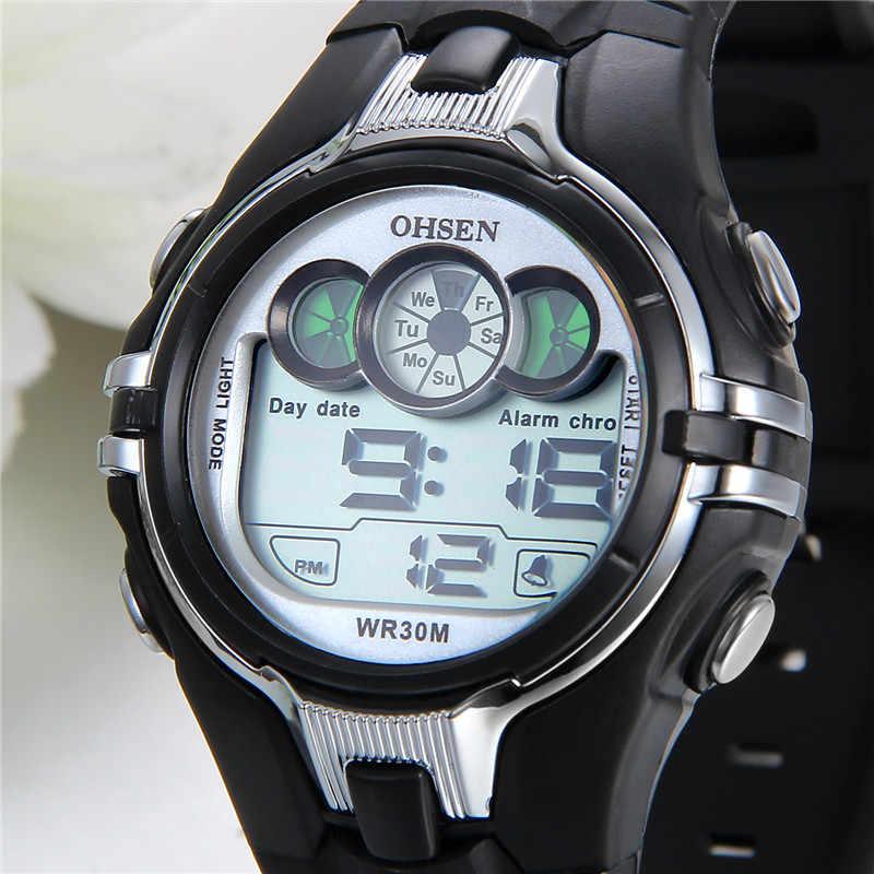 Lancardo Relógios Homens LEVARAM Relógio Digital de Esporte Ao Ar Livre Estudante Relógio Preto Relógio Relogio masculino de Luxo Da Marca Horloges Mannen