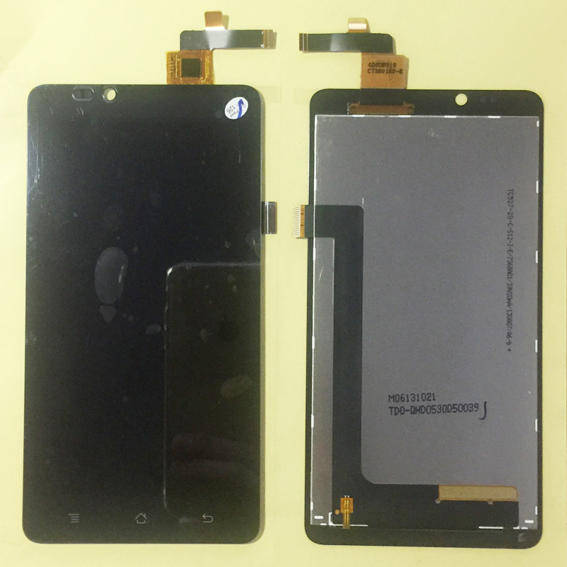 For Highscreen Omega Prime XL LCD Display With Touch Screen Digitizer Assembly Mobile Phone LCDs Replacement Parts