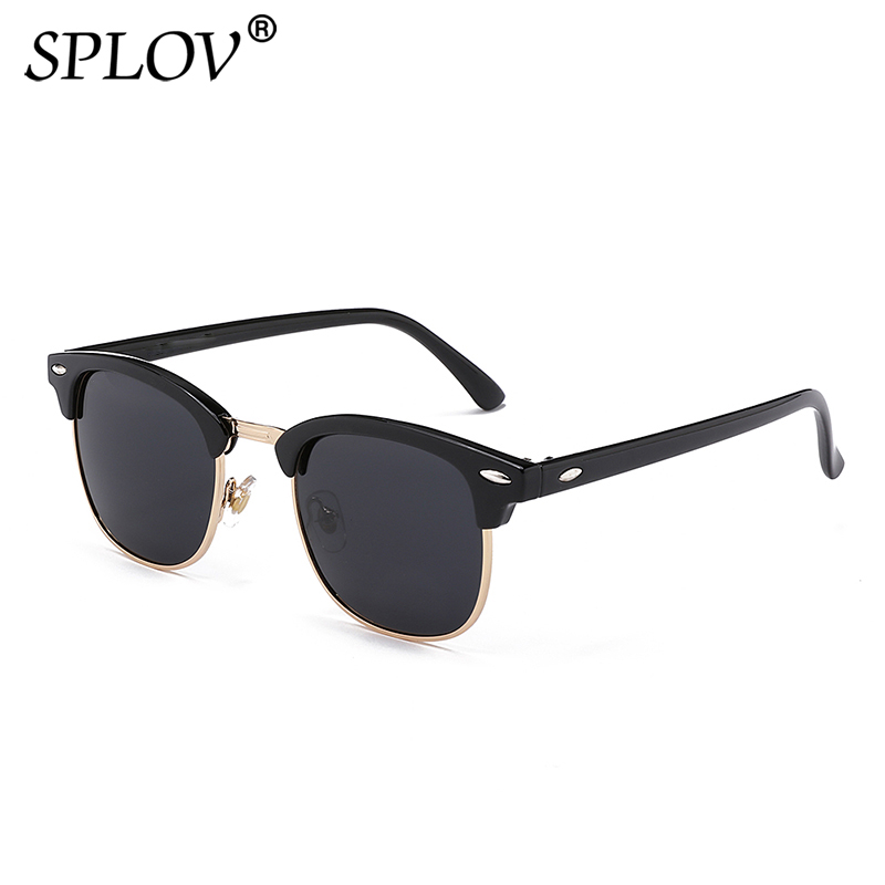 2018 New Fashion  Semi Rimless Polarized Sunglasses Men Women Brand Designer Half Frame Sun Glasses Classic Oculos De Sol UV400 kids plastic frame sunglasses children girls bownot cartoon cat shades eyeglasses oculos de sol crianca baby children sunglasses