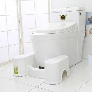 Image 2 - Plastic Antislip Badkamer Wc Aid Squatty Stap Voet Kruk Voor Potje Helpen Voorkomen Constipatie Sneller Stoelgang