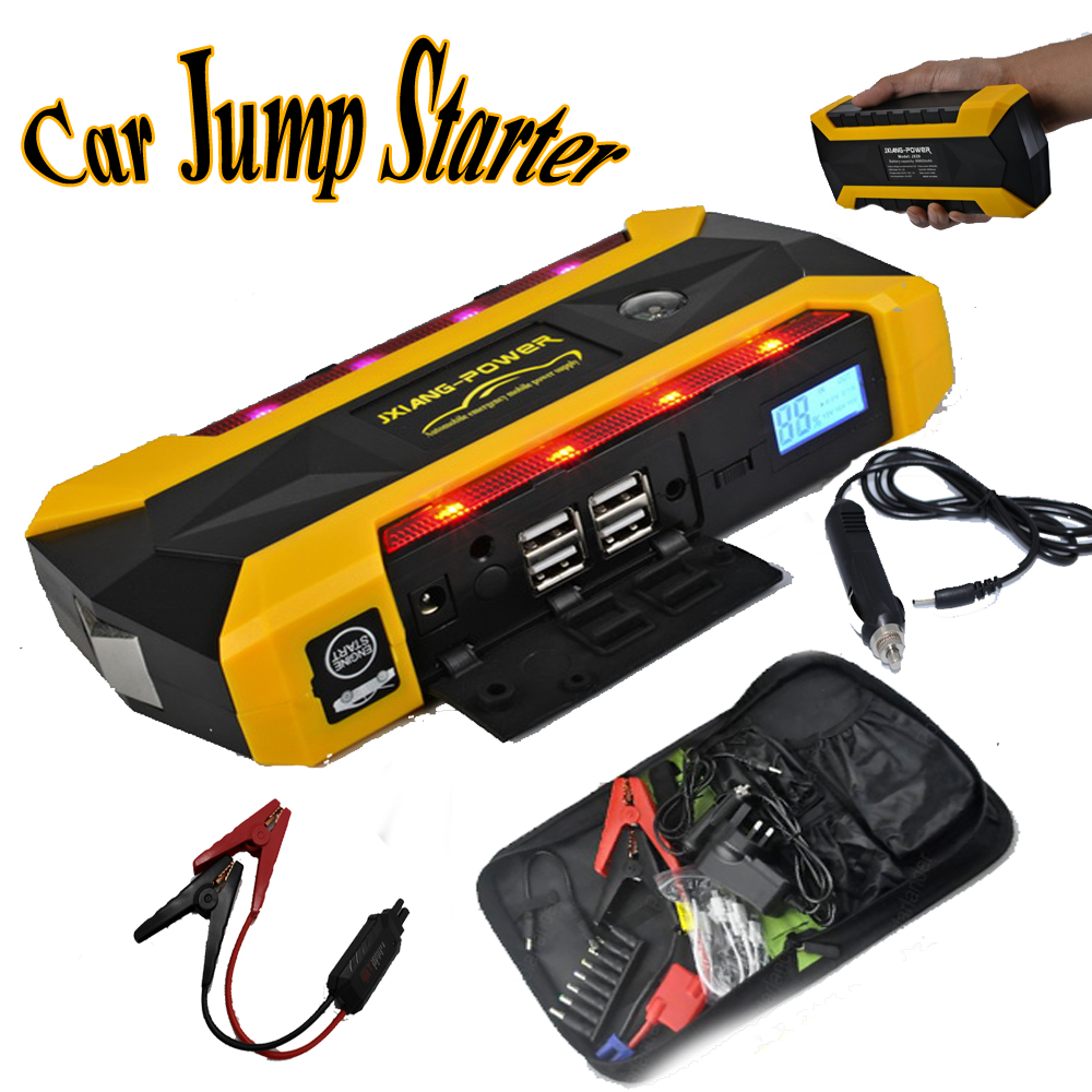 12V MINI Portable Car Charger Power Bank Emergency Gasoline Diesel Auto Battery Booster Pack Vehicle Car Jump Starter 2016 high capacity gasoline diesel car jump starte 12v emergency battery charger 4usb portable power bank sos lights free ship