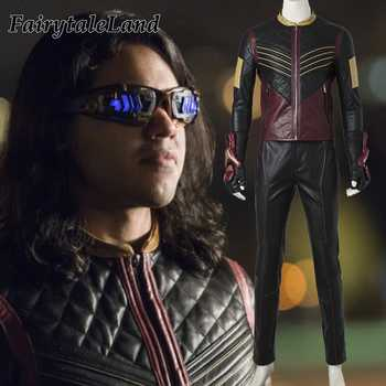 The Flash Vibe Cosplay Costume adult Halloween costumes Flash superhero Vibe costume the Flash Season 3 Cosplay Clothing - DISCOUNT ITEM  0% OFF All Category