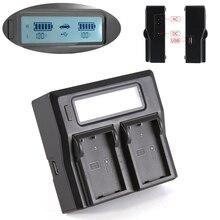 Многофункциональный ЖК-Двойной Зарядное Устройство Для Nikon EN-EL9, D40 D40x D60 D3000 D5000