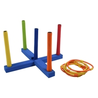 Children Outdoor Fun Toy Sports Tossing Ring Joy Ferrule Throwing Game Parent Child Interaction Toys Indoor Toys