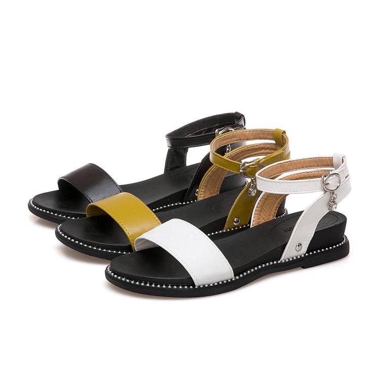 be10e0ca471 Compre Sandalias De Mujer 2018 Nuevas Sandalias De Verano Zapatos De ...