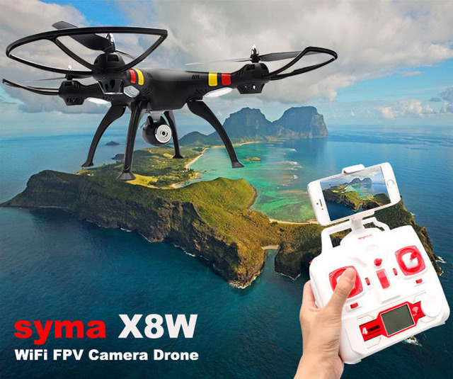 First Person View Quadcopter With 2MP Wide Angle Camera HD X8W 1 RC Drone