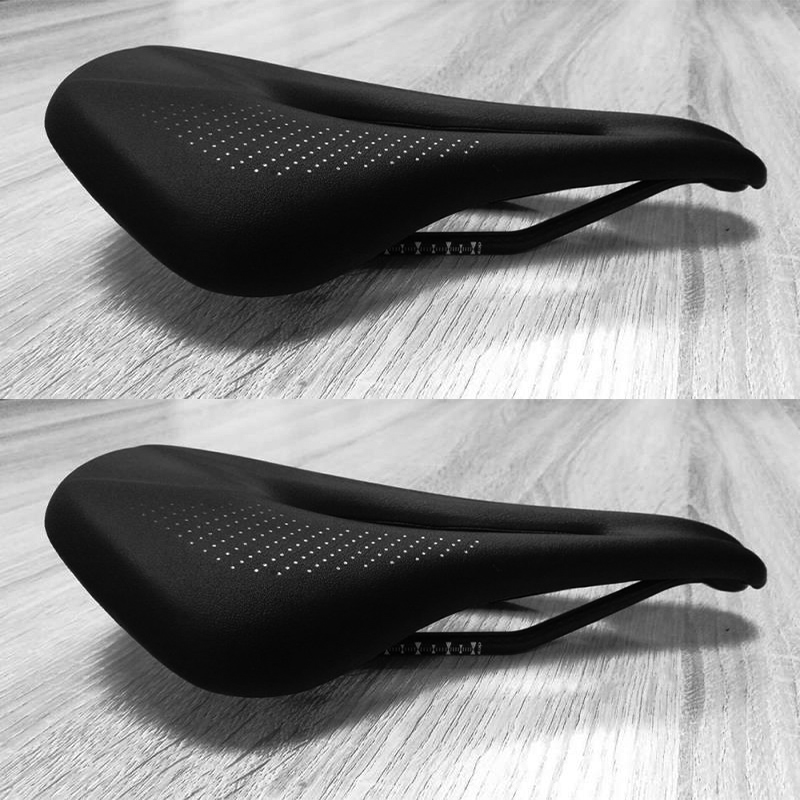 цена на Beteery saddle 2018 new bike saddle carbon bicycle saddle so soft MTB carbon fiber and pu coat seat bike parts for sale