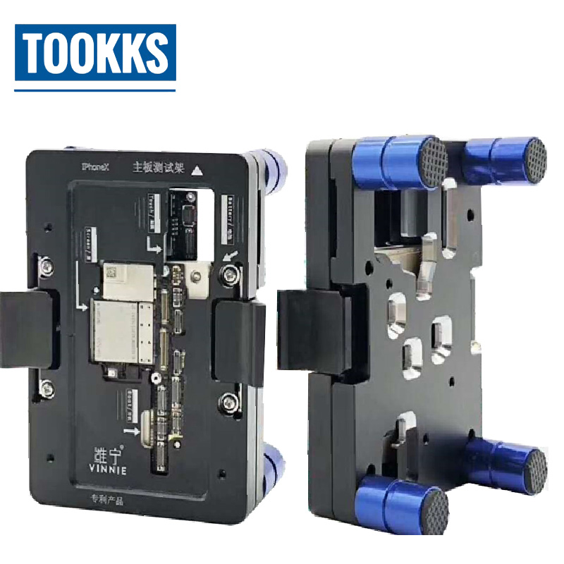 iPhone X Main Board Testing Fixture iSocket Jig Logic Board Fast Test Fixture Holder For iPhone X Repair