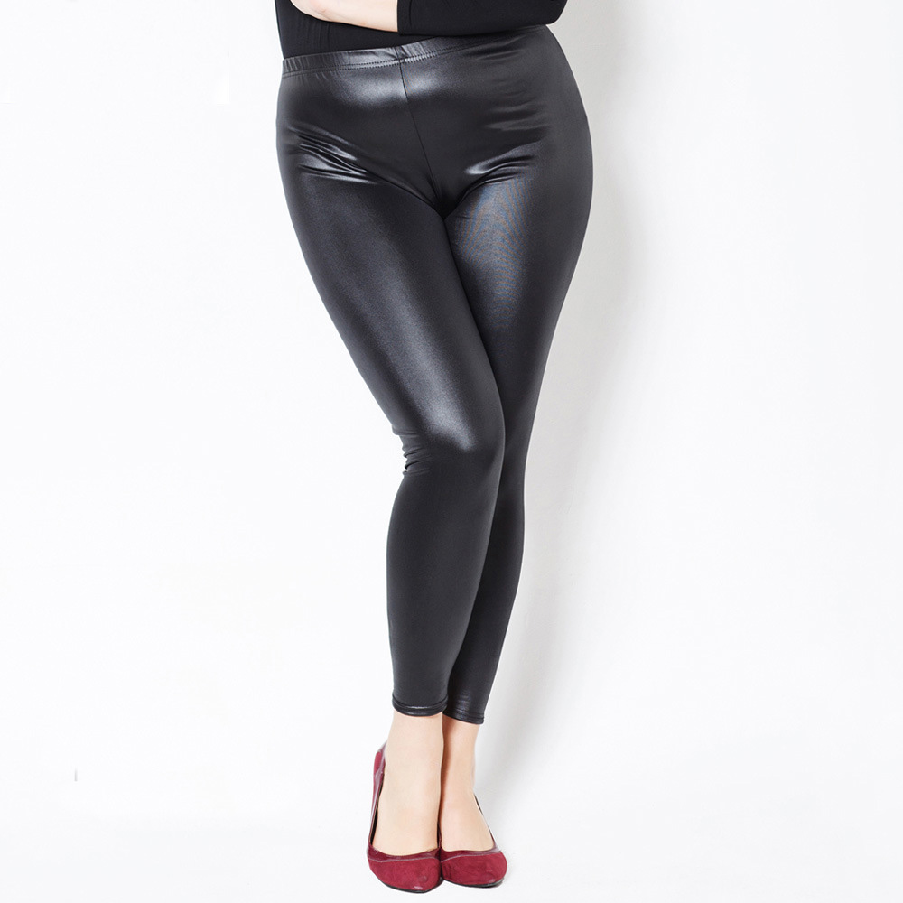 Compare Prices on Plus Size Wet Look Leggings- Online Shopping/Buy ...