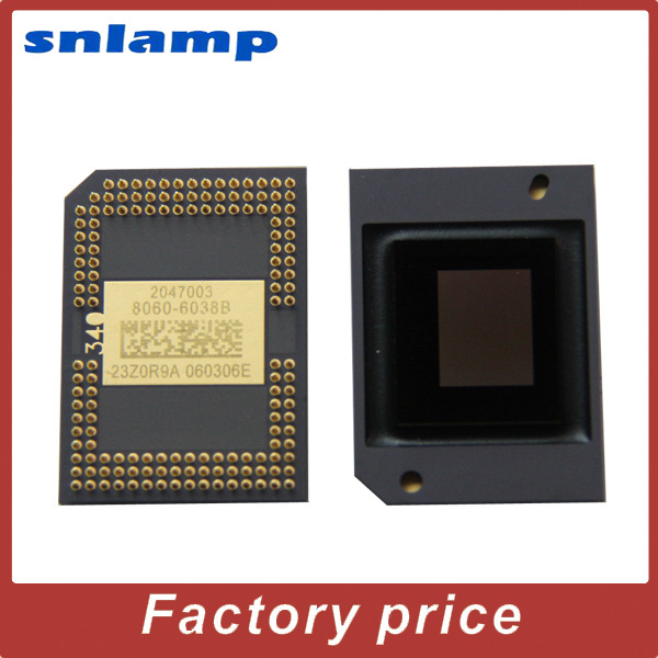 Brand original Projector Big DMD chip 8060-6038B/8060-6039B/8060-6138B/8060-6139B/8060-601AB 8060 6038b dmd chip for benq mp514 projector
