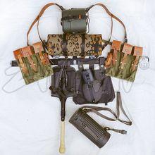 WW2 מלחמת העולם השנייה ציוד MP44/STG בד שדה חבילת ציוד ציוד שילוב