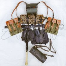 WW2 WWII 장비 MP44/STG 캔버스 필드 기어 패키지 장비 조합