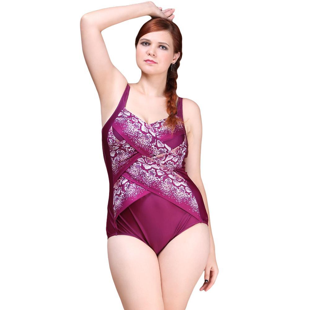 ФОТО Sexy One Piece Swimsuit 2016 Vintage Plus Size Swimwear Women Criss Cross Bandage Beach Bodysuit Scoop Back Halter Bathing Suit