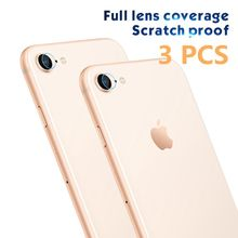 3 PCS Back Camera Lens Screen Protector Glass Film For iPhone 7 8 Plus X XR XS Max Screen Protective Tempered Glass on xr xs max