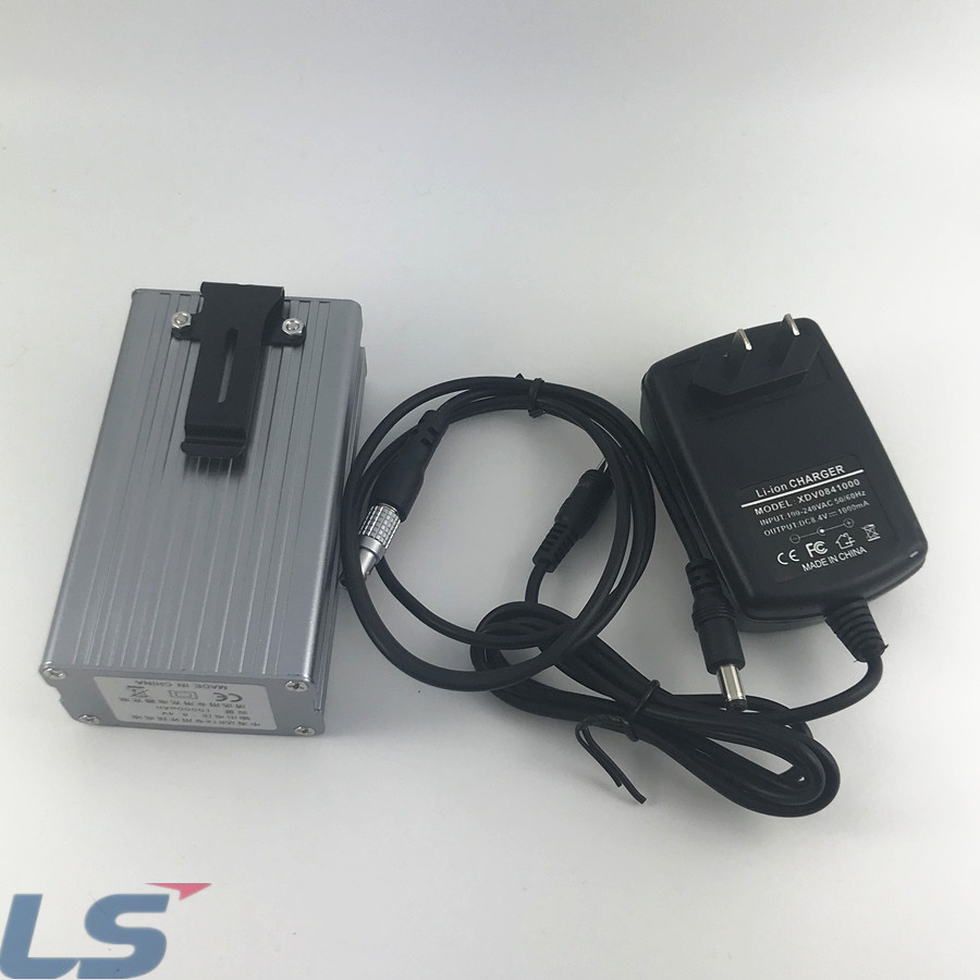HI-TARGET BATTERY TOGETHER WITH CHARGER AND 5pin CABLE  battery XDV0841000 8.4V 1000MA