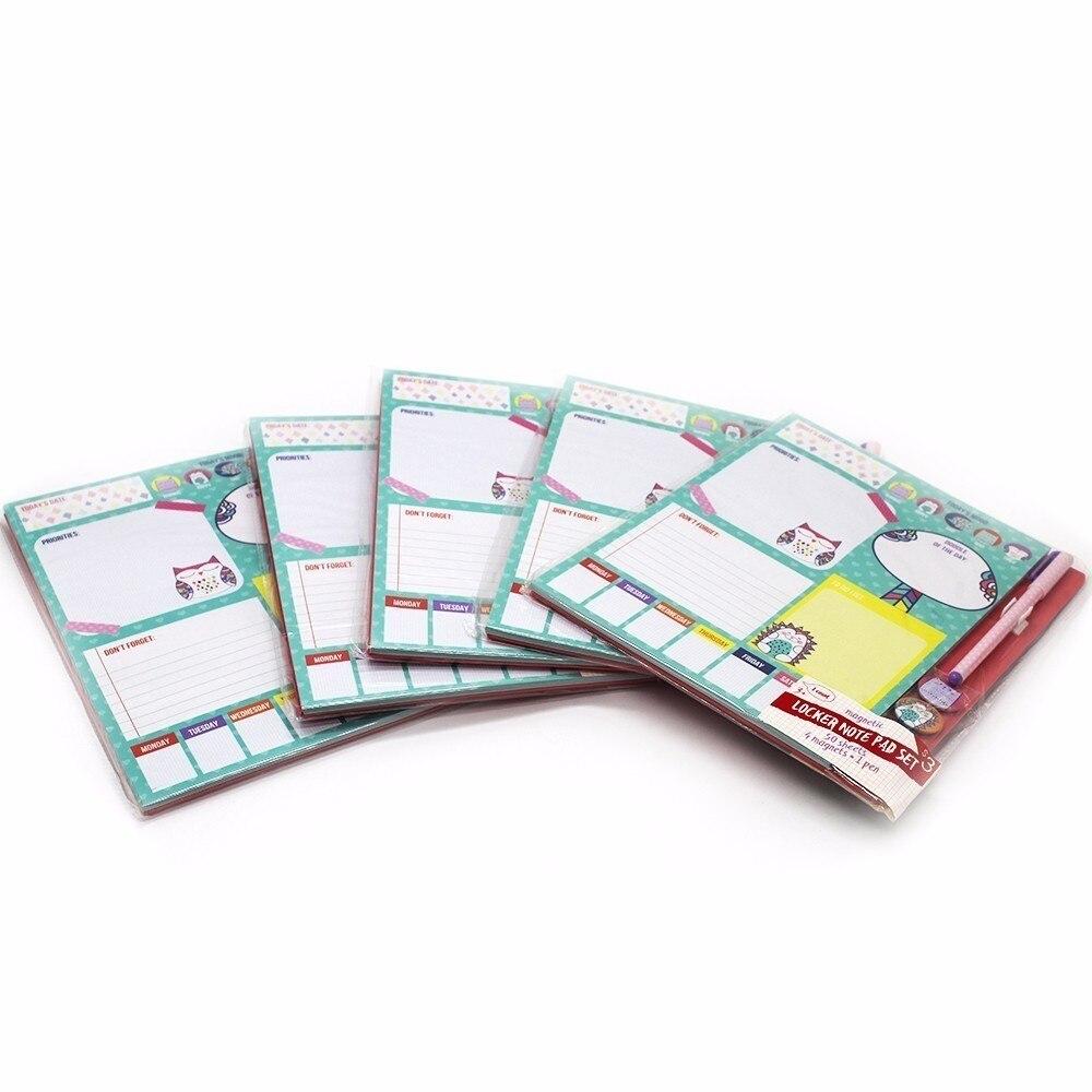 Pocket Notebook 4 Magneet Small Clean Leuk meisje Portable Notes - Notitieblokken en schrijfblokken bedrukken - Foto 4