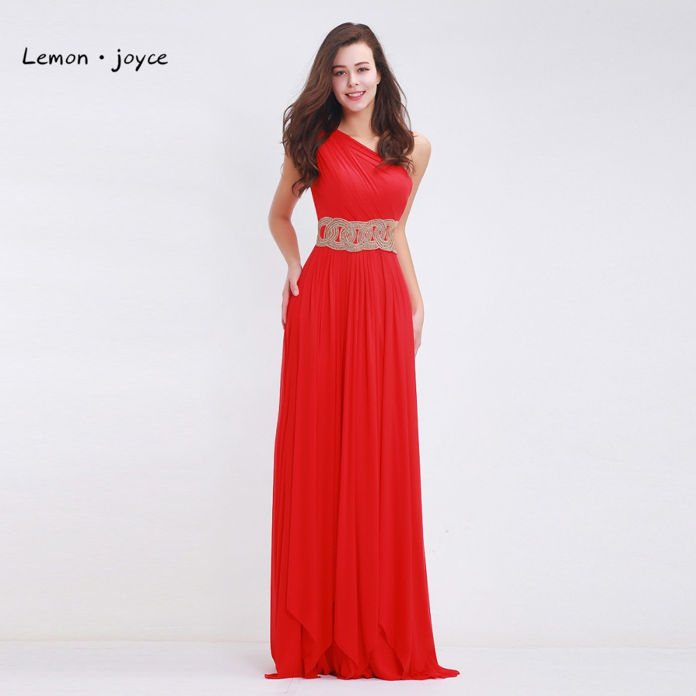 Red chiffon prom dresses long straight 2017 for womens for Long straight wedding dresses