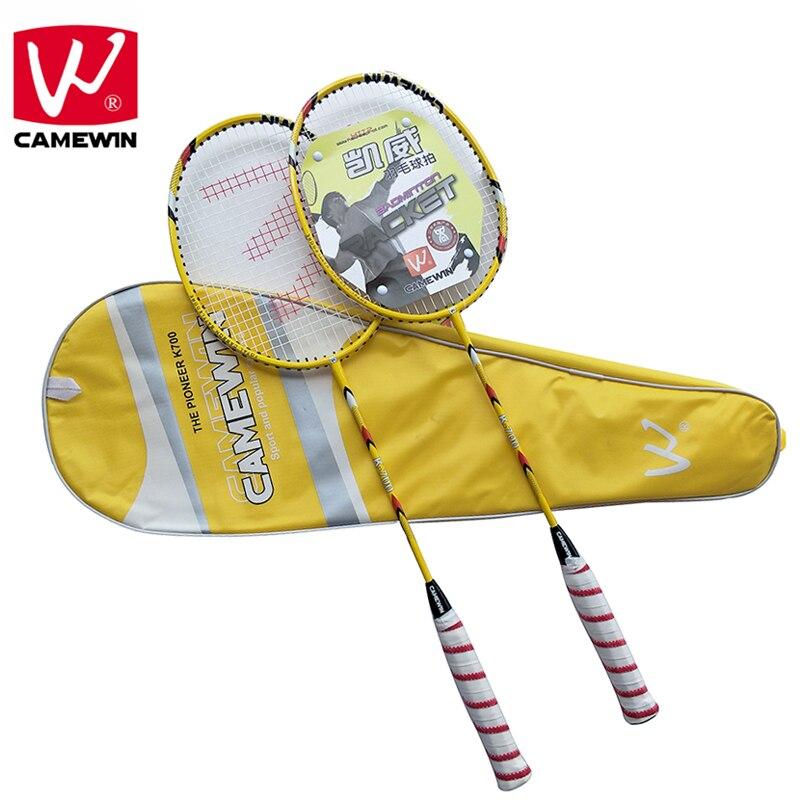 CAMEWIN Professional Badminton Racket Carbon High Quality Badminton Racquet2 PCS Badminton Rackets+1 Bag raquete de badminton