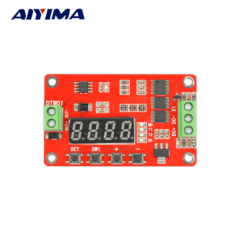AIYIMA DC6-32V DTM01 DC Multifunction Time Delay Timer Transistor Relay Module Free shipping