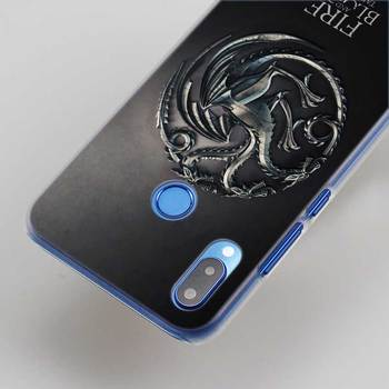 Game Of Throne jon snow Pattern transparent hard Phone Cover Fundas Coque for Huawei P8 P9 Lite 2017 P10 Lite P20 Lite P smart