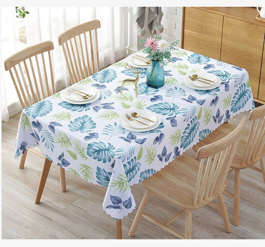 Pvc Tablecloth Waterproof Table Cloth