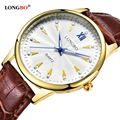 2017 LONGBO Luxury Quartz Watch Casual Fashion Leather Watches Men Women Couple Watch Sports Analog Wristwatch 80119
