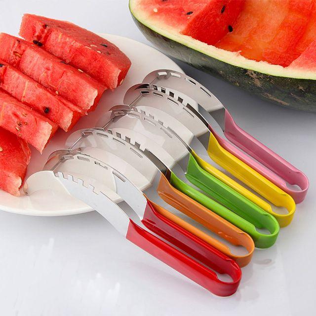 Stainless Steel Watermelon Slicer & Server 1