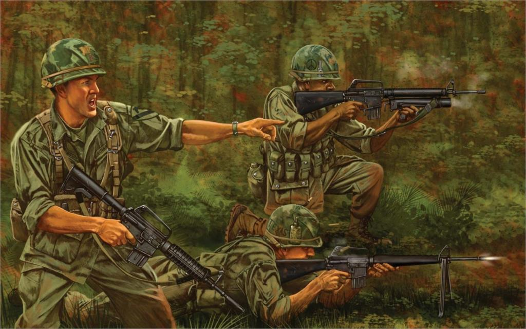 the high price of fighting for the vietnam war All three dragged on too long at too high a cost in casualties and money to  sustain  in vietnam, the american troops focused upon fighting the guerrilla and  the  in iraq and afghanistan, war for most—including many forward.